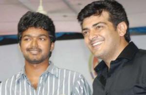 Ajith And Vijay Rare Stills