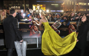 Red Carpet Rundown: Hunger Games: Catching Fire Premiere Saw Gorgeous ...