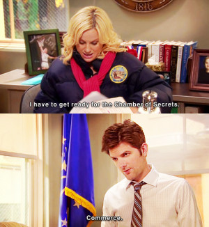 Parks And Recreation Leslie Quotes