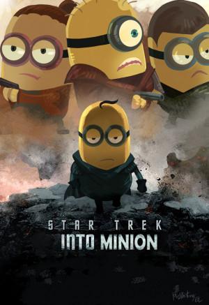 Star Trek Into Minion by Mushstone