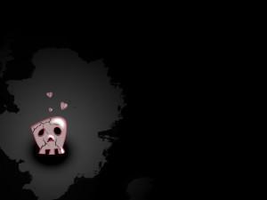 EMO Sad Love Skull wallpapers