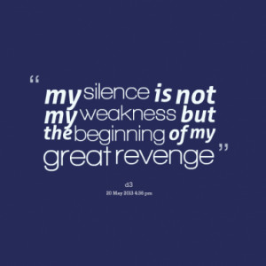 Quotes About: Revenge