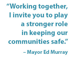 The Summer of Safety Initiative is the City's coordinated approach ...