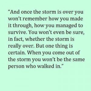 weathering the storm inspirational quote