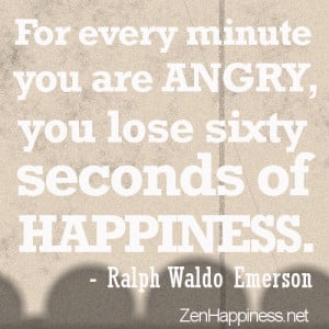 Angry Quotes- For every minute you are angry, you lose sixty seconds ...