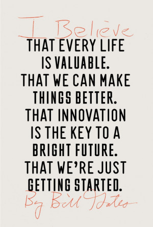 Bill Gates on Technology, Innovation & Improving the World