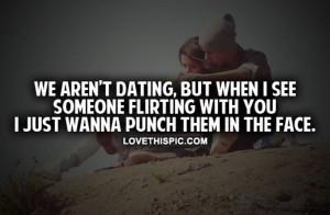 Stop Flirting