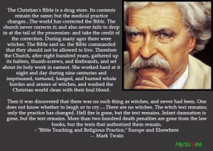 Mark Twain on the Christian Bible