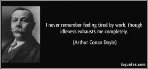 More Arthur Conan Doyle Quotes