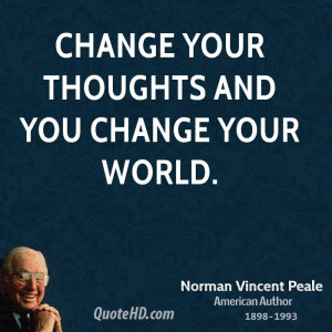 Norman Vincent Peale Inspirational Quotes
