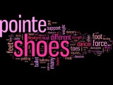 Wordle: Pointe Shoes