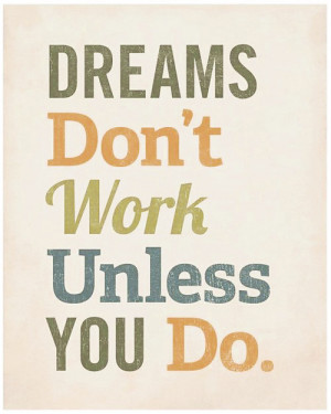 Dreams Inspirational Picture Quote