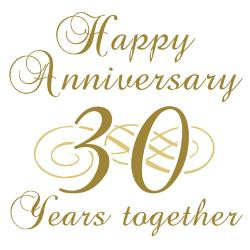stylish_30th_anniversary_greeting_cards_pk_of_10.jpg?height=250&width ...