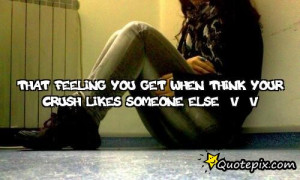 Crush dating someone else quotes