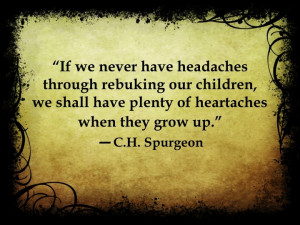 Difficult truth from C.H. Spurgeon.