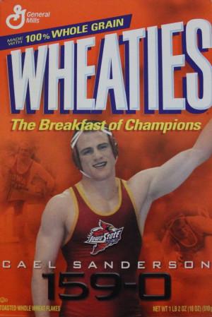 Cael Sanderson--Champion Wrestler
