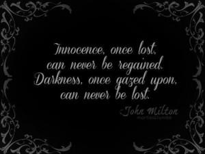 John Milton quote.