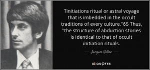 Tinitiations ritual or astral voyage that is imbedded in the occult ...