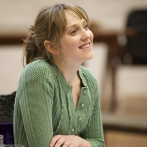 Hattie Morahan in rehearsals for Time And The Conways Photo Manuel