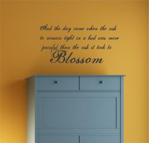 Blossom Quotes