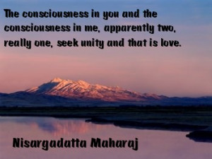 Nisargadatta teaches Non-duality and Allness . God does not exist ...