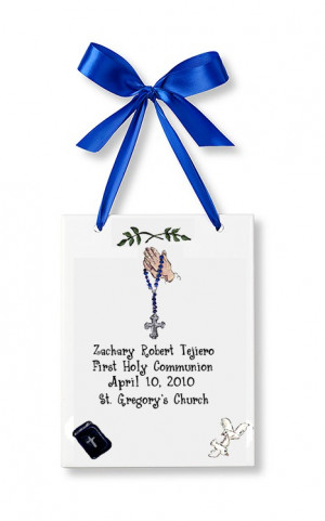 Boy First Holy Communion Quotes