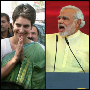 Priyanka Gandhi hits out at Narendra Modi; says India needs big heart ...