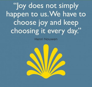 Joy does not simply happen henri nouwen quotes sayings picturesjpg