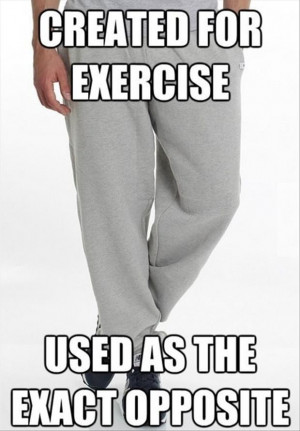 exercise pants funny quotes
