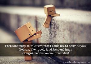 Godson Birthday Quotes