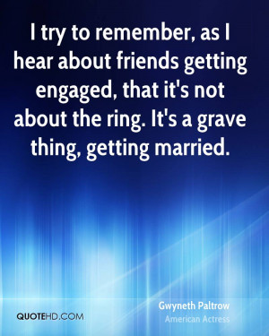 Gwyneth Paltrow Marriage Quotes