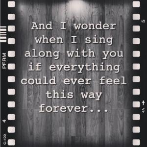 Foo Fighters. Everlong.