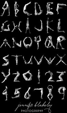 Gymnastics Alphabet I remeber doing these when I was a little girl ...