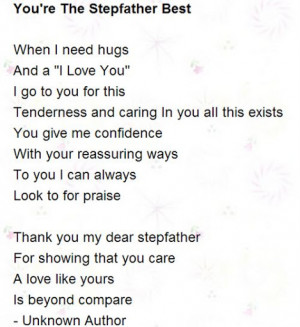 Step Father Poems