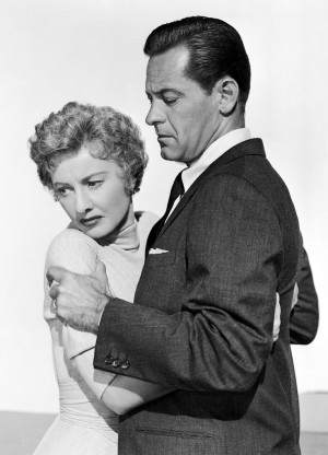 Barbara Stanwyck and William Holden in Executive Suite (1954)