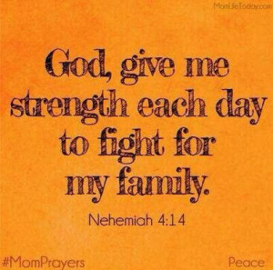 God, give me strength!