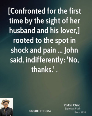 Yoko Ono Husband Quotes