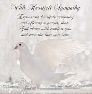 FREE To Share Sympathy Card Messages - Words Of Sympathy Picture Cards ...