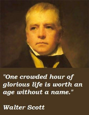 Walter scott famous quotes 2