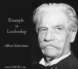 Albert schweitzer leadership