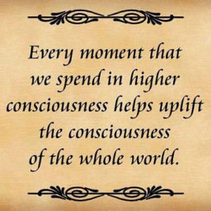 Higher Consciousness = Higher Heart