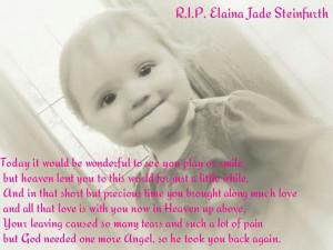 RIP Baby Elaina