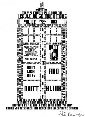 TARDIS in quotes by MadCheshireHatter
