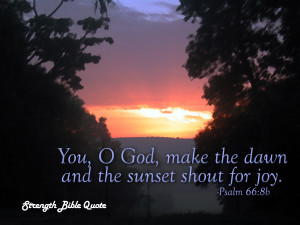 Psalm 66.8b Bible Verse
