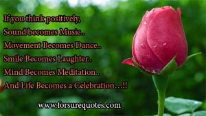 Life becomes a celebrations .. image quotes and sayings