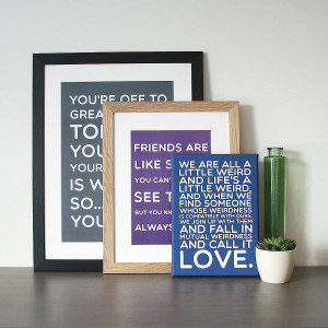 Family Photo Frames With Quotes Frame examples