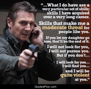 very particular set of skills… – Taken 2