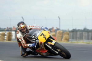 Barry Sheene at the 1979 British GP
