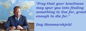 Dag hammarskjold famous quotes 3