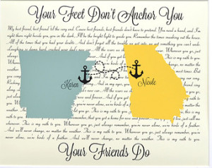 away miss you for bff anchors present about friends friend